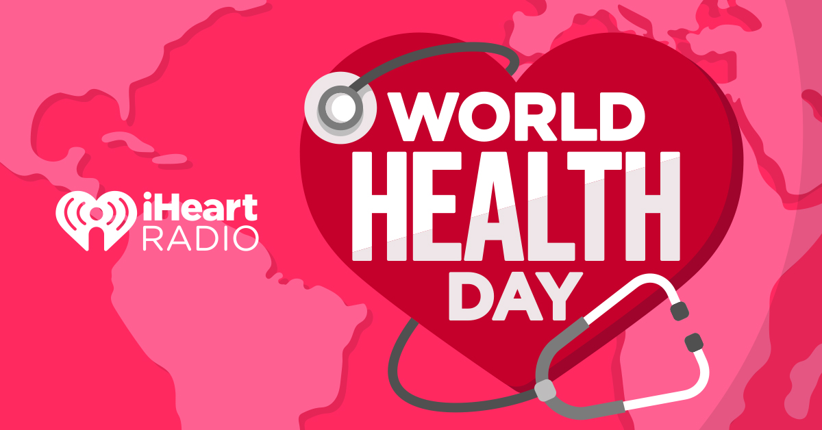 iHeartRadio World Health Day 2021_Banner