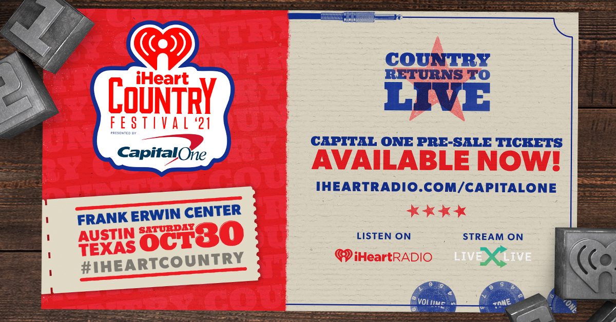 AOTW_2021 iHeartCountry Festival Line-up_Banner