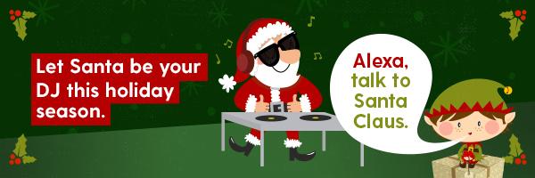 Iheartradio Brings Santa To Your Amazon Alexa Powered Devices Iheart Blog