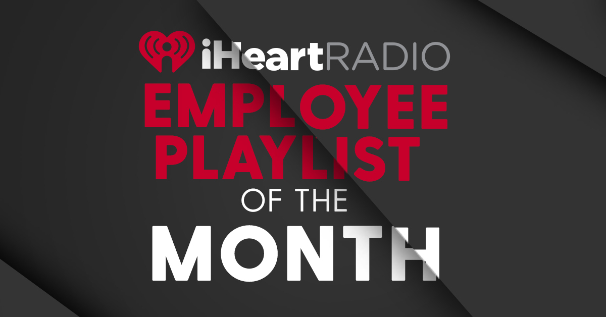 Employee Playlist of the Month banner