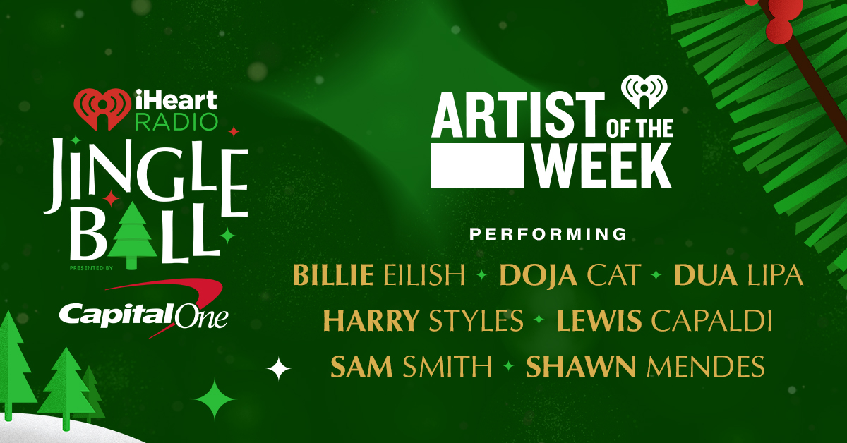 AOTW iHeartRadio Jingle Ball 2020_Banner
