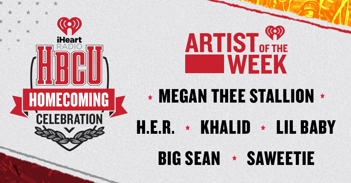 AOTW HBCU Homecoming Celebration on iHeartRadio_Banner