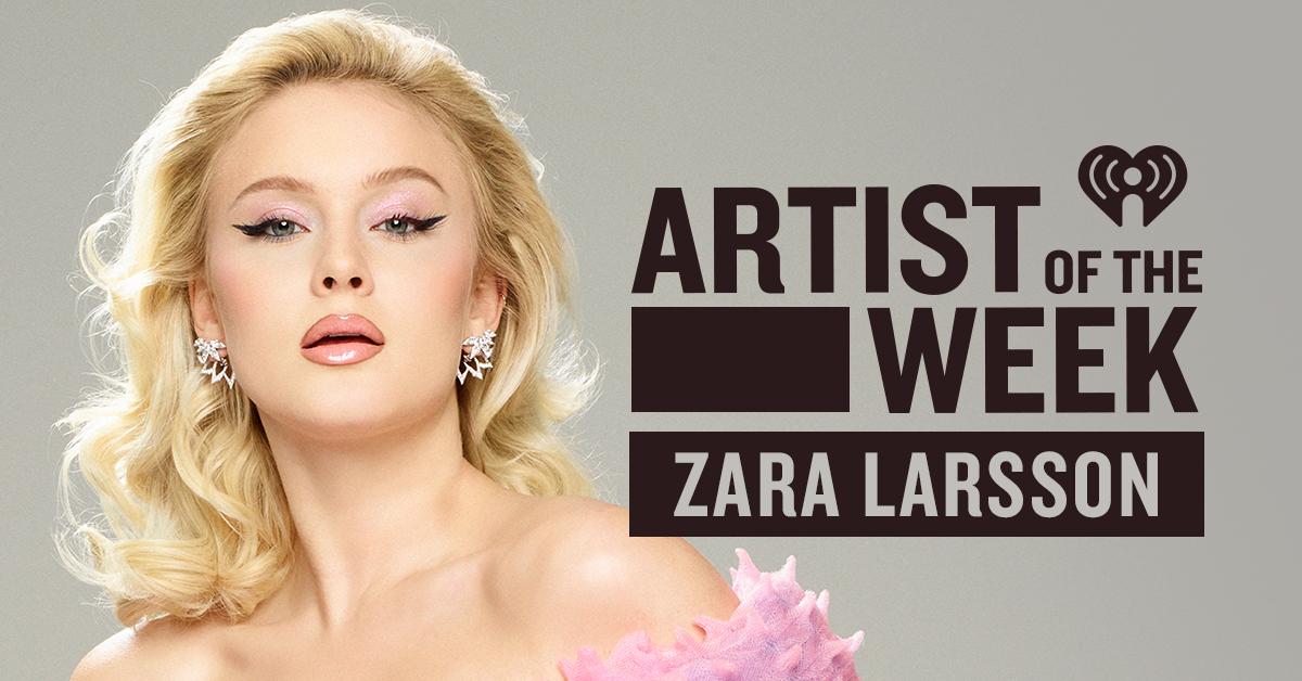 AOTW Zara Larsson_Banner