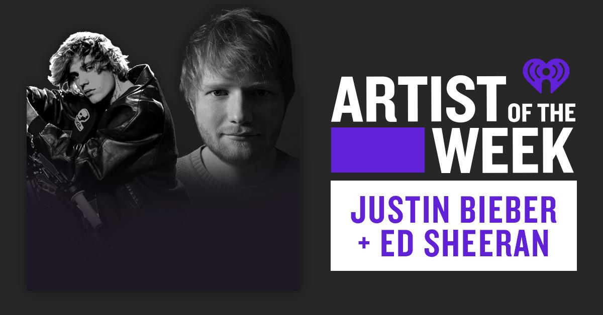 AOTW_Ed Sheeran and Justin Bieber_Banner